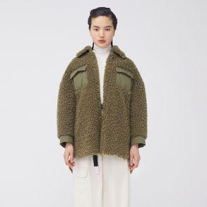 秋季新款羊羔毛外套女韩版宽松短款百搭外套6020314059
